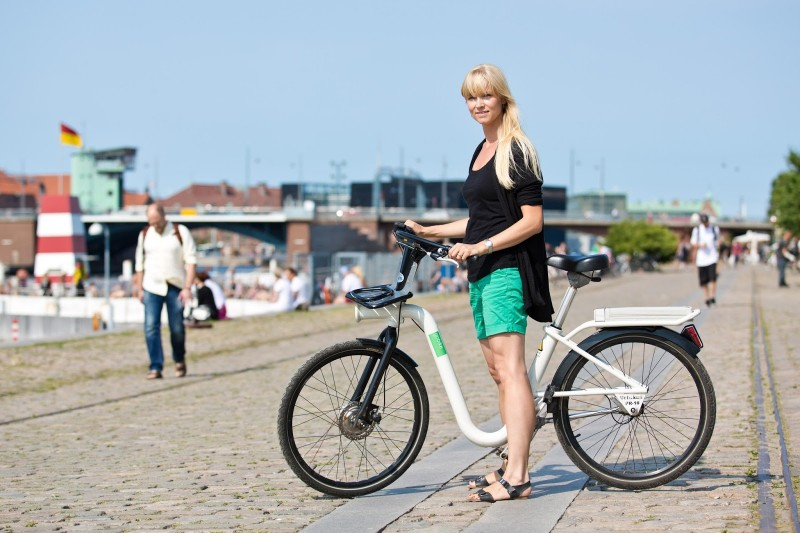 copenhagen bike sharing network