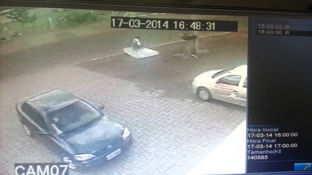 Biker Lands On Mattress After Bike Knocked Out From Under Him By Said Mattress