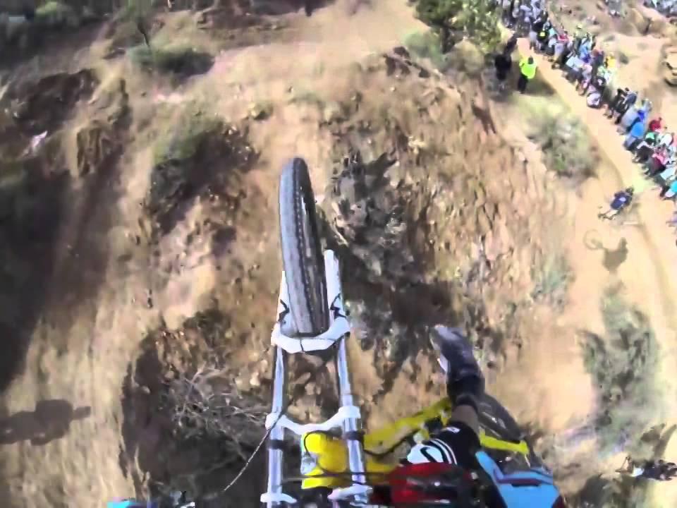 Yikes (insane mountain biking video)